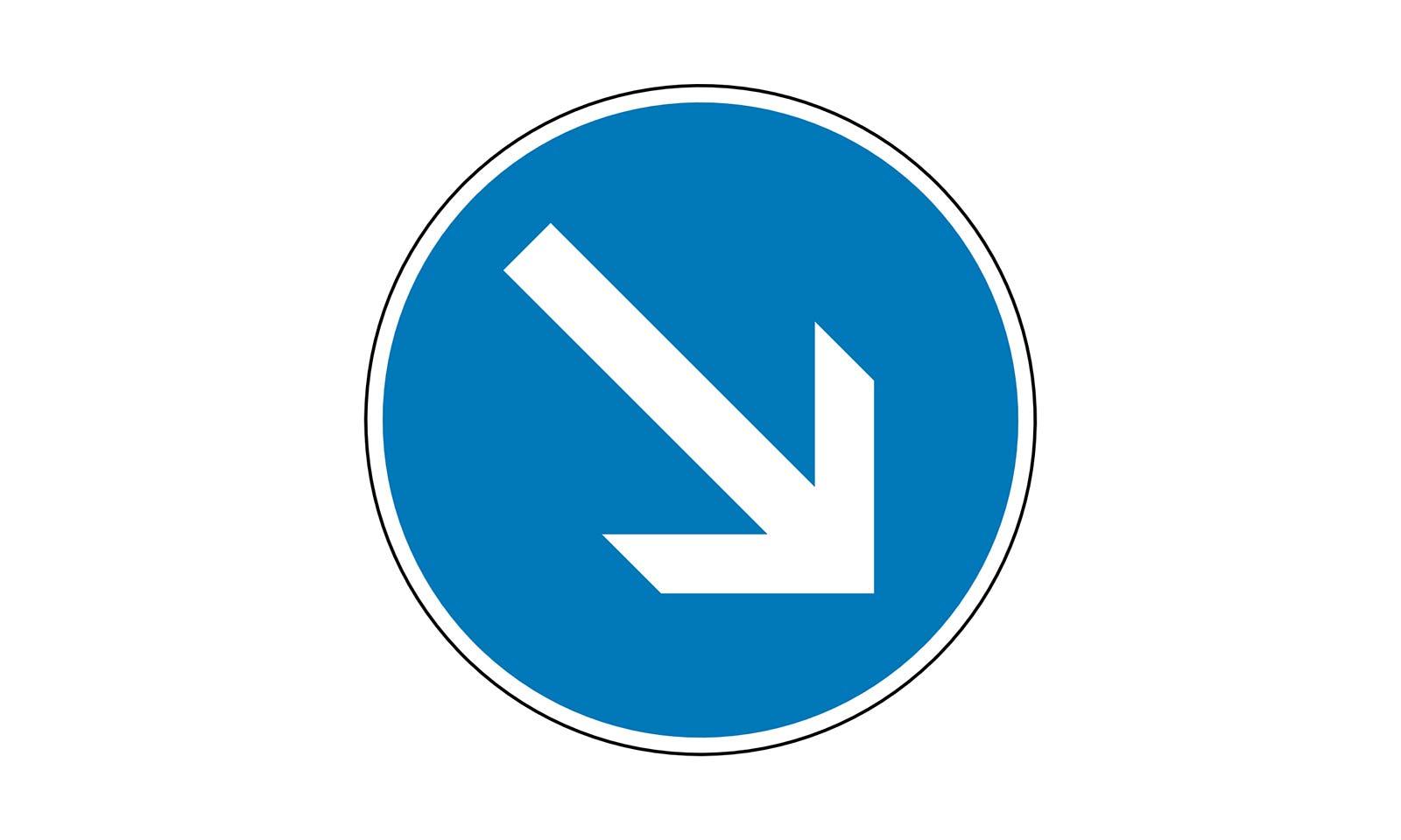 verkehrszeichen dürfen nicht halten